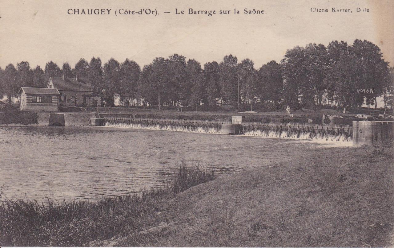 Chaugey barrage