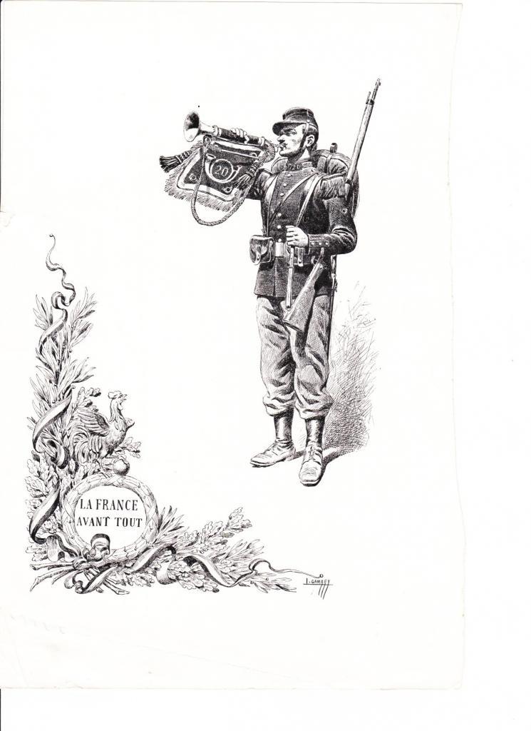 Gambey la France avant tout en 1914