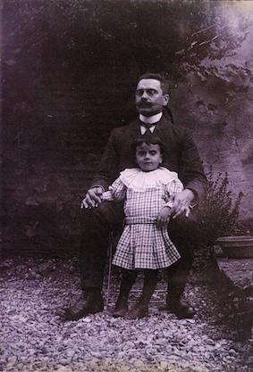 Yvonne Ripard et son père