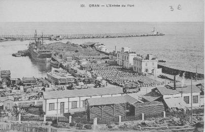 Oran entrée du port