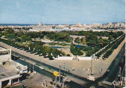 Oran jardin municipal palais des sports