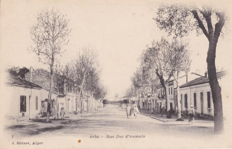 Rue duc d aumale arba